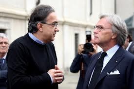 Sergio Marchionne e Diego Della Valle
