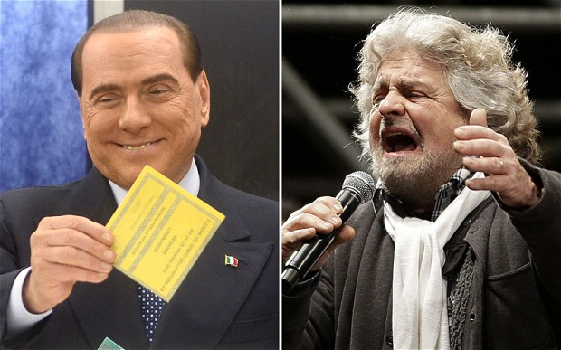 Vi spiego il rutilante successo di Grillo e Berlusconi