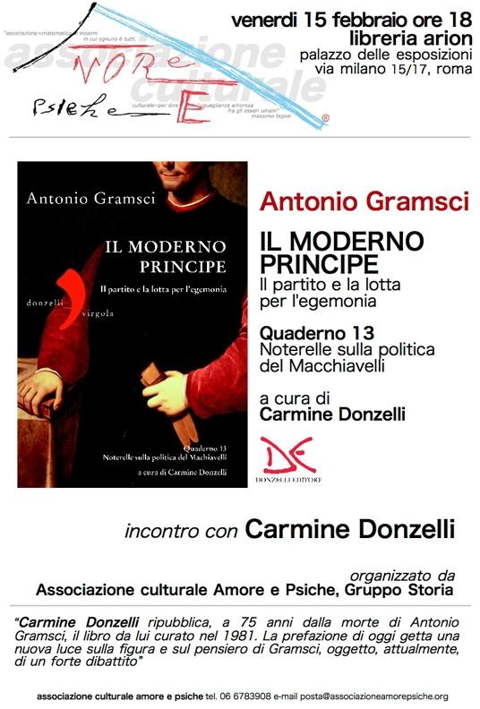 Tamburrano: Meritoria opera di Lo Piparo su Gramsci