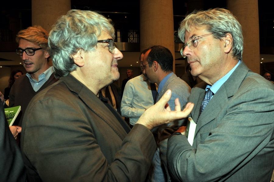 Ermete Realacci e Paolo Gentiloni