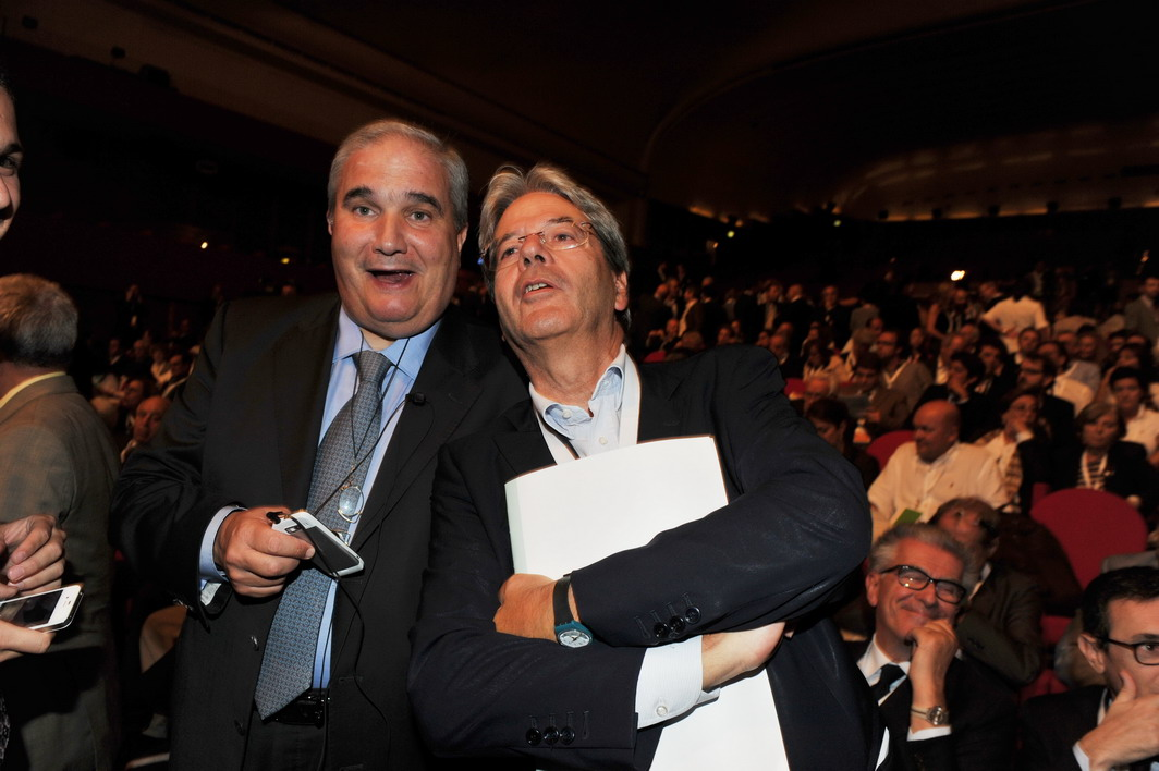 Giuseppe Fioroni e Paolo Gentiloni