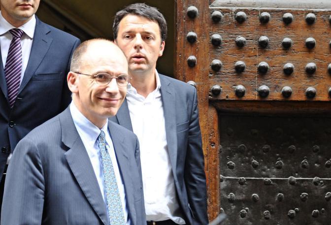 Renzi parla ma gli italiani si aggrappano al governo Letta