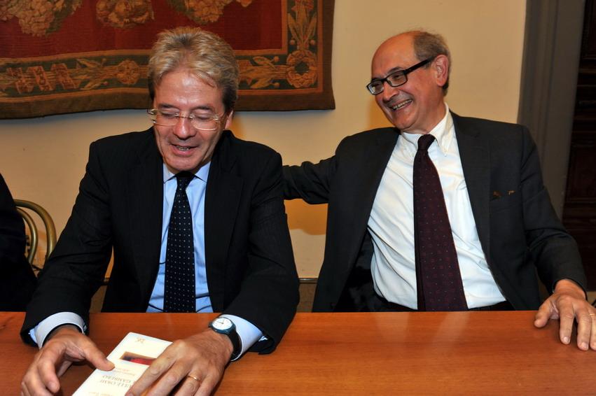 Paolo Gentiloni e Walter Tocci