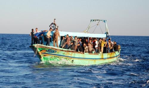 Lampedusa, Italia, con la morte nel cuore