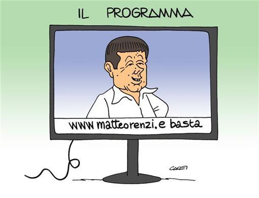 Renzi, Cuperlo, Civati. Stili a confronto