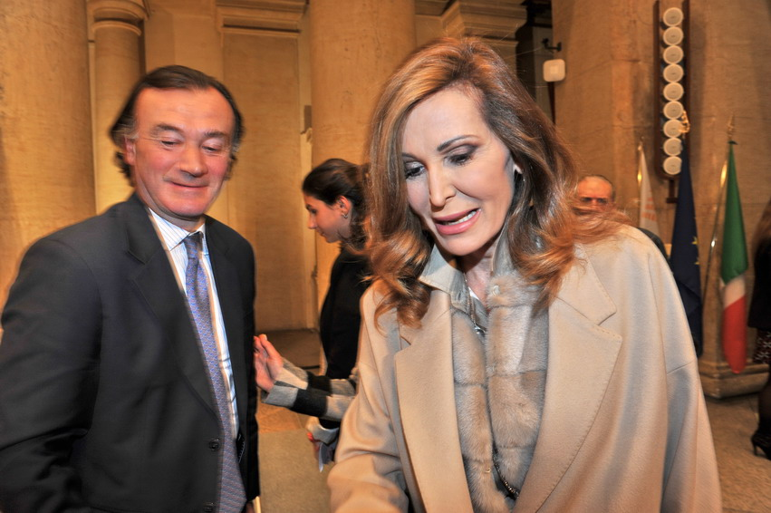 Antonio Martuscello e Daniela Santanchè