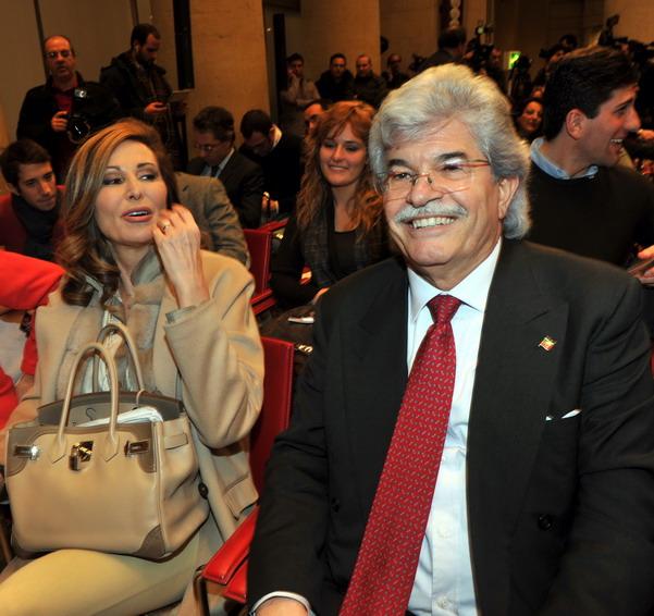 Daniela Santanchè e Antonio Razzi