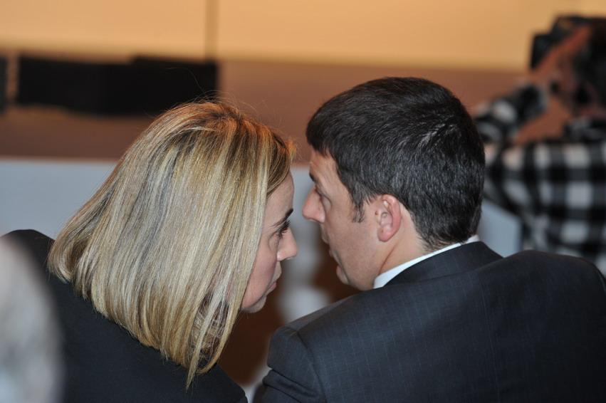 Cosa si dice davvero a Bruxelles di Renzi e Mogherini