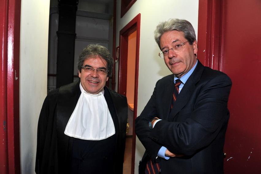 Enzo Bianco e Paolo Gentiloni