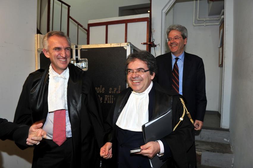 Alessandro De Nicola, Enzo Bianco e Paolo Gentiloni
