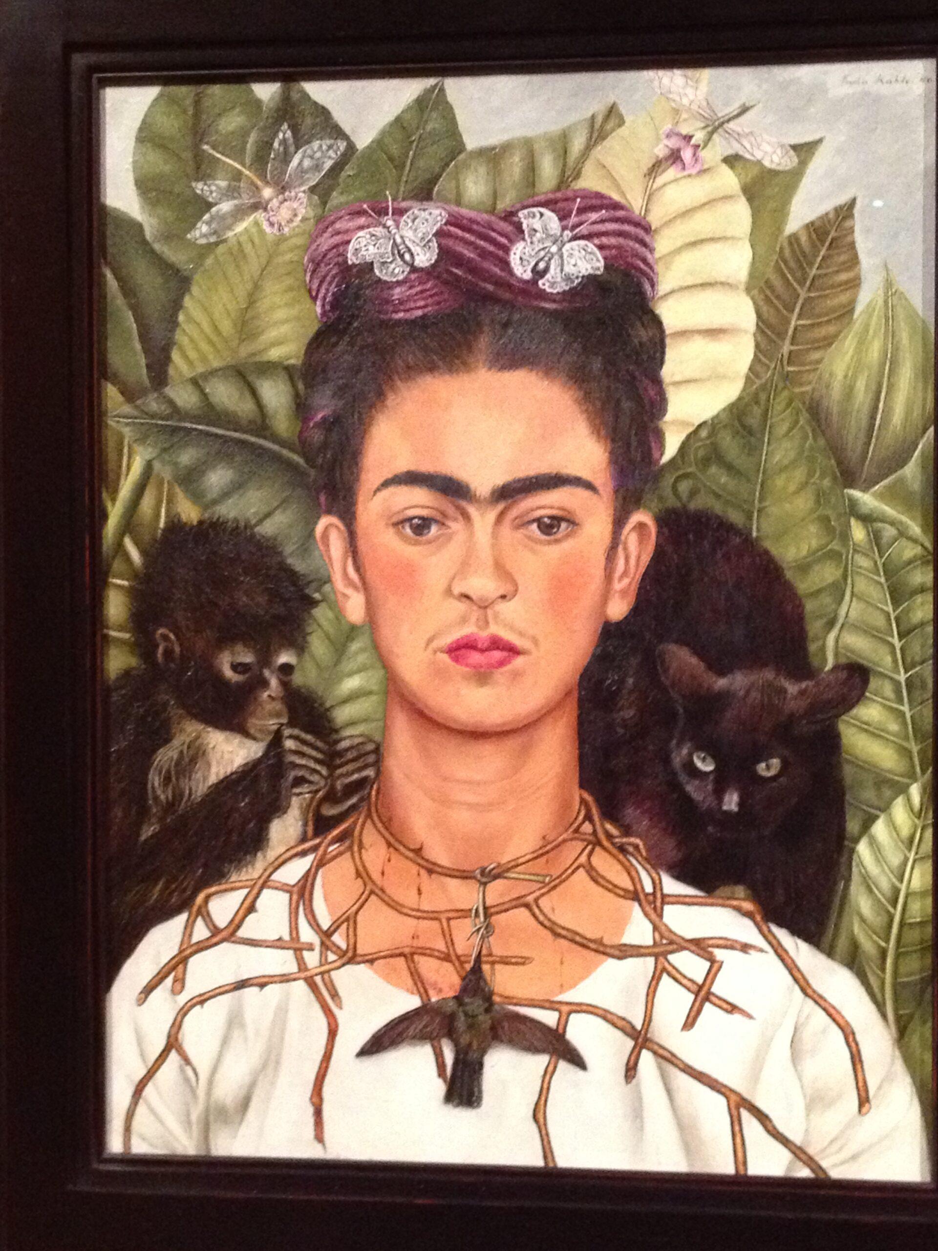 Da oggi le vibrazioni ed il colore di Frida a Roma
