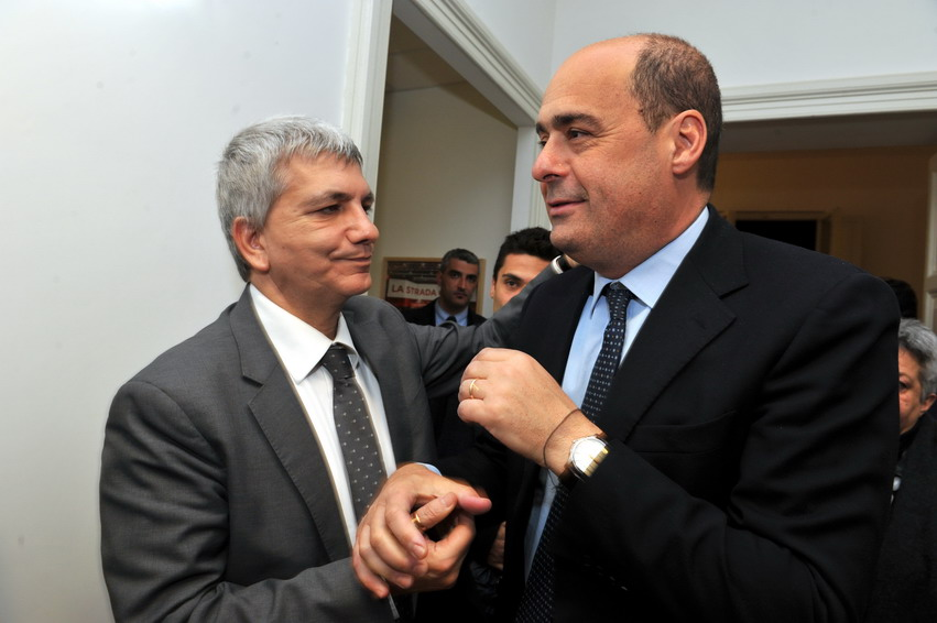 Nichi Vendola e Nicola Zingaretti