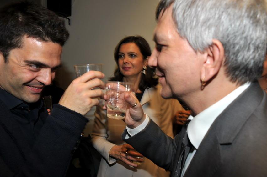 Ed Testa, Laura Boldrini e Nichi Vendola