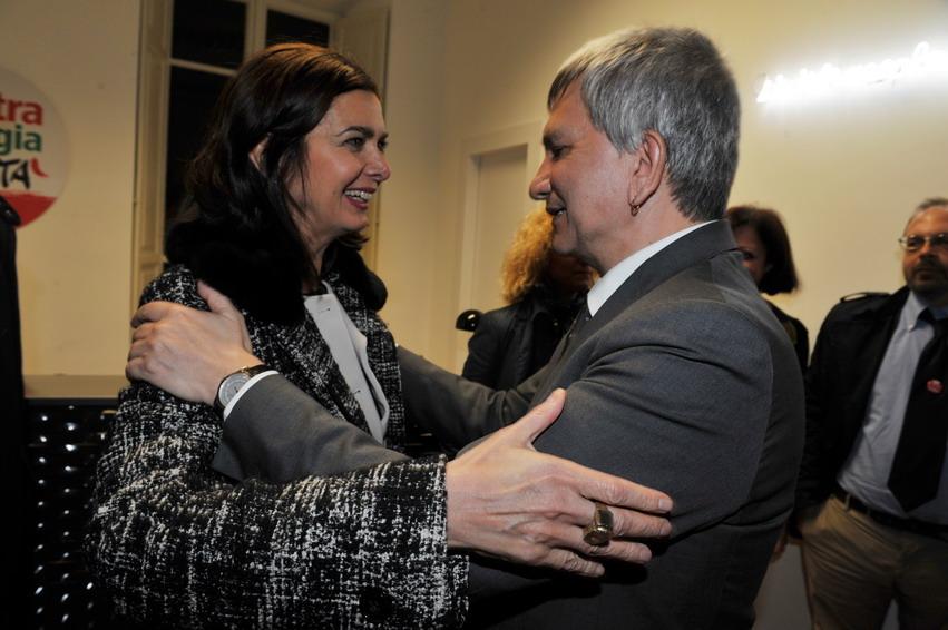 Laura Boldrini e Nichi Vendola
