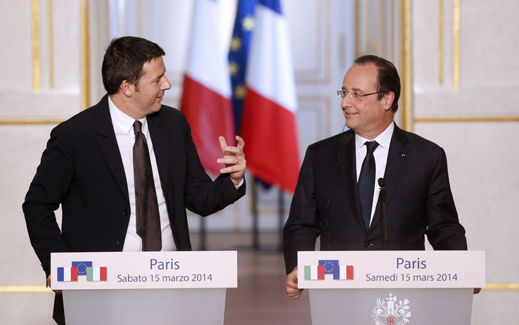 Italia-Francia, un anno di relazioni economiche segnate dalla crisi