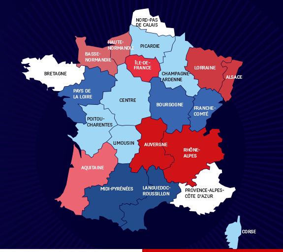 Cartina Francia Sud Dettagliata.Francia Ecco Il Piano Di Hollande Per Riformare Le Regioni Formiche Net