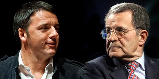 Il tiki-taka di Prodi e Renzi sulla politica industriale