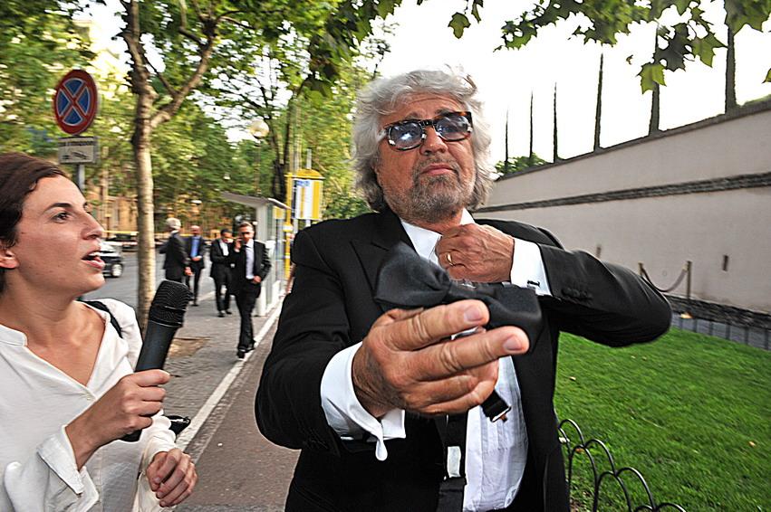 Beppe Grillo sbugiardato sui morti per smog