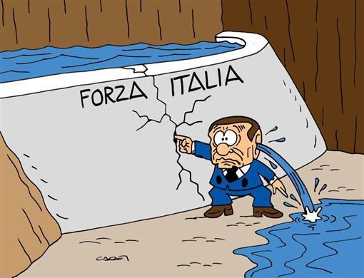 Il suicidio di Forza Italia