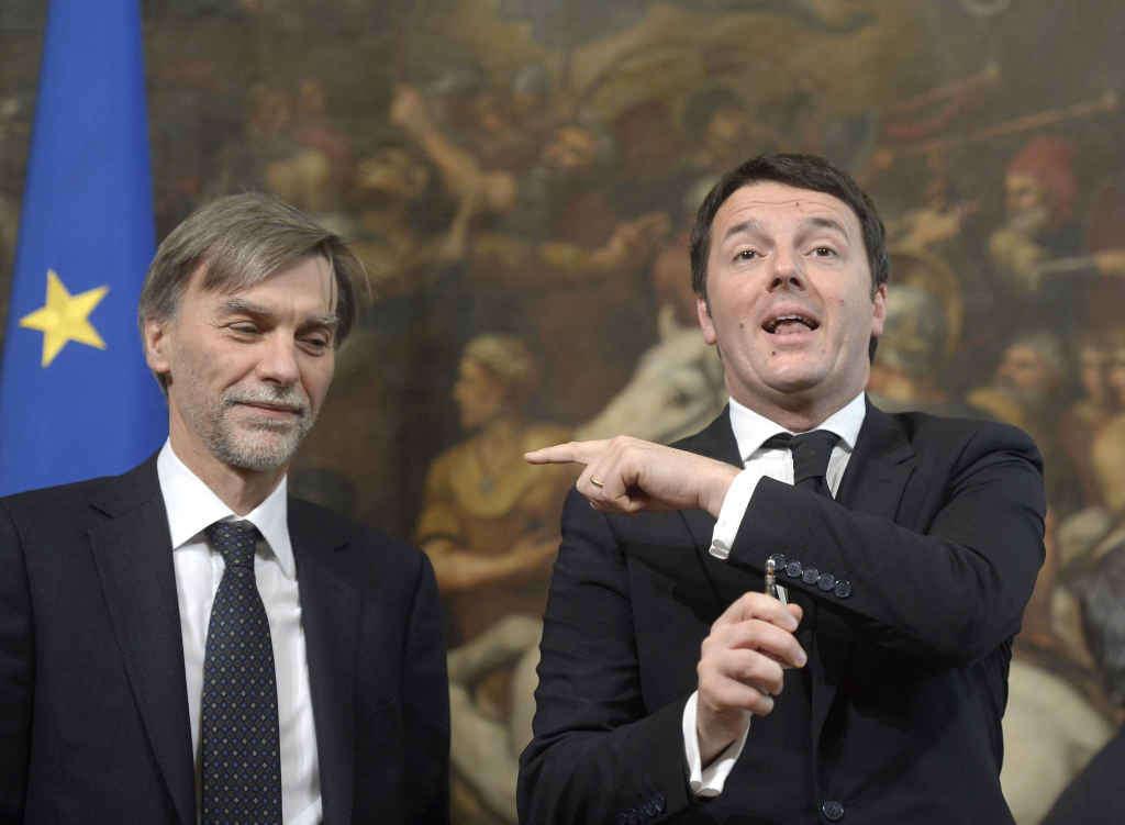 Renzi, Delrio e quel trambusto a Palazzo Chigi