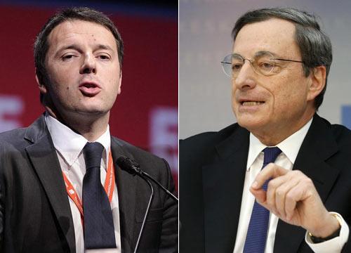 Renzi, Draghi e quelle parole sibilline