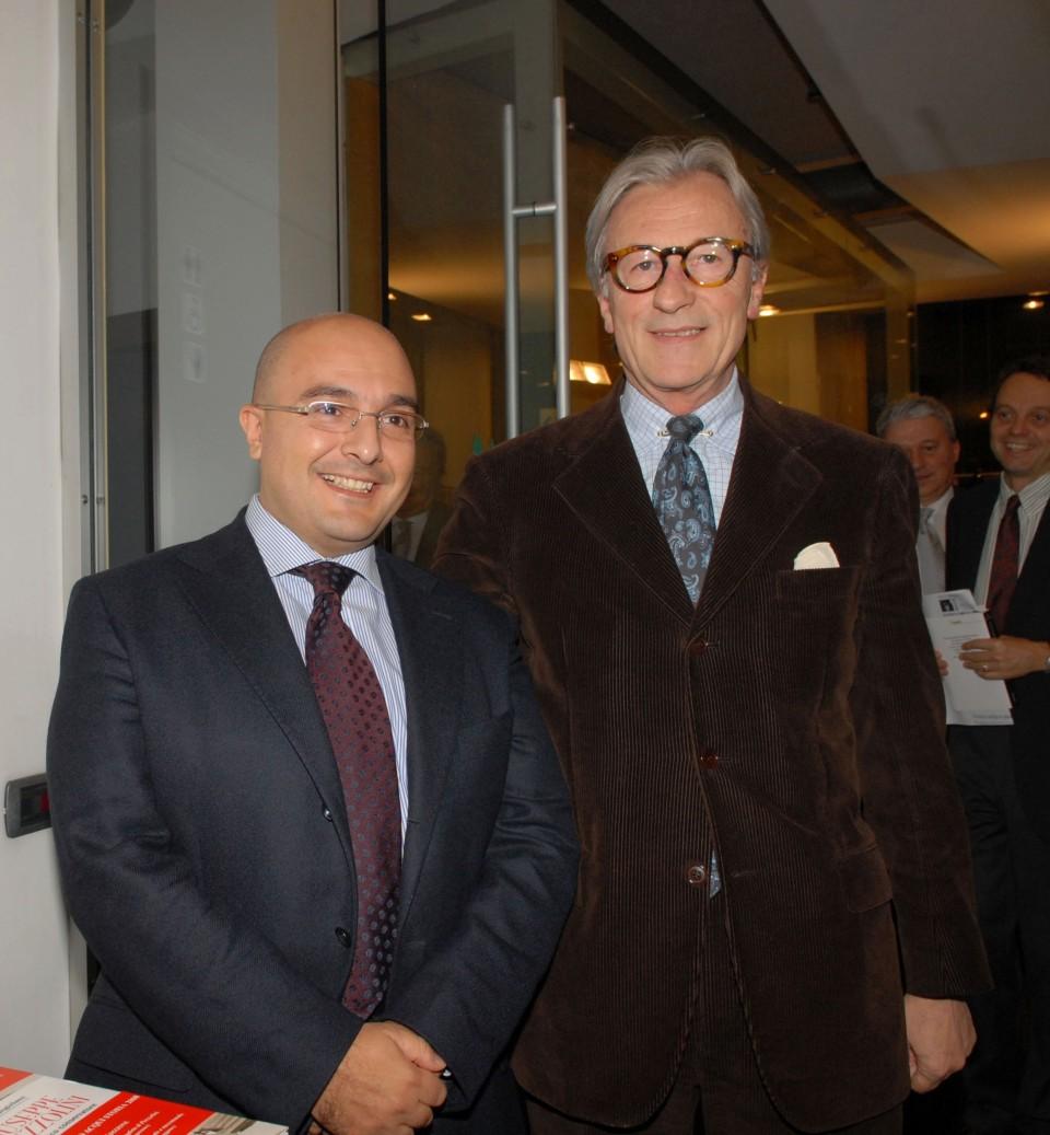 Gennaro Sangiuliano e Vittorio Feltri