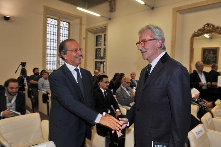 Luigi Bisignani e Vittorio Feltri