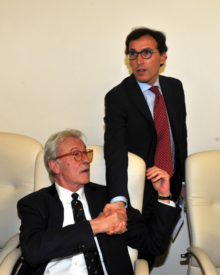 Vittorio Feltri e Francesco Boccia
