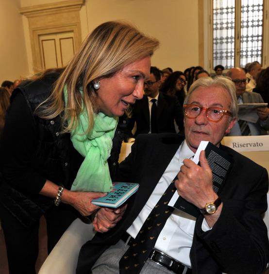 Rosanna Lambertucci e Vittorio Feltri