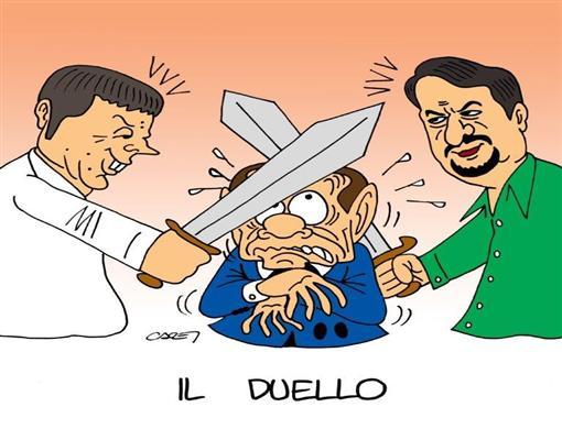 Salvini cresce, Renzi gode?