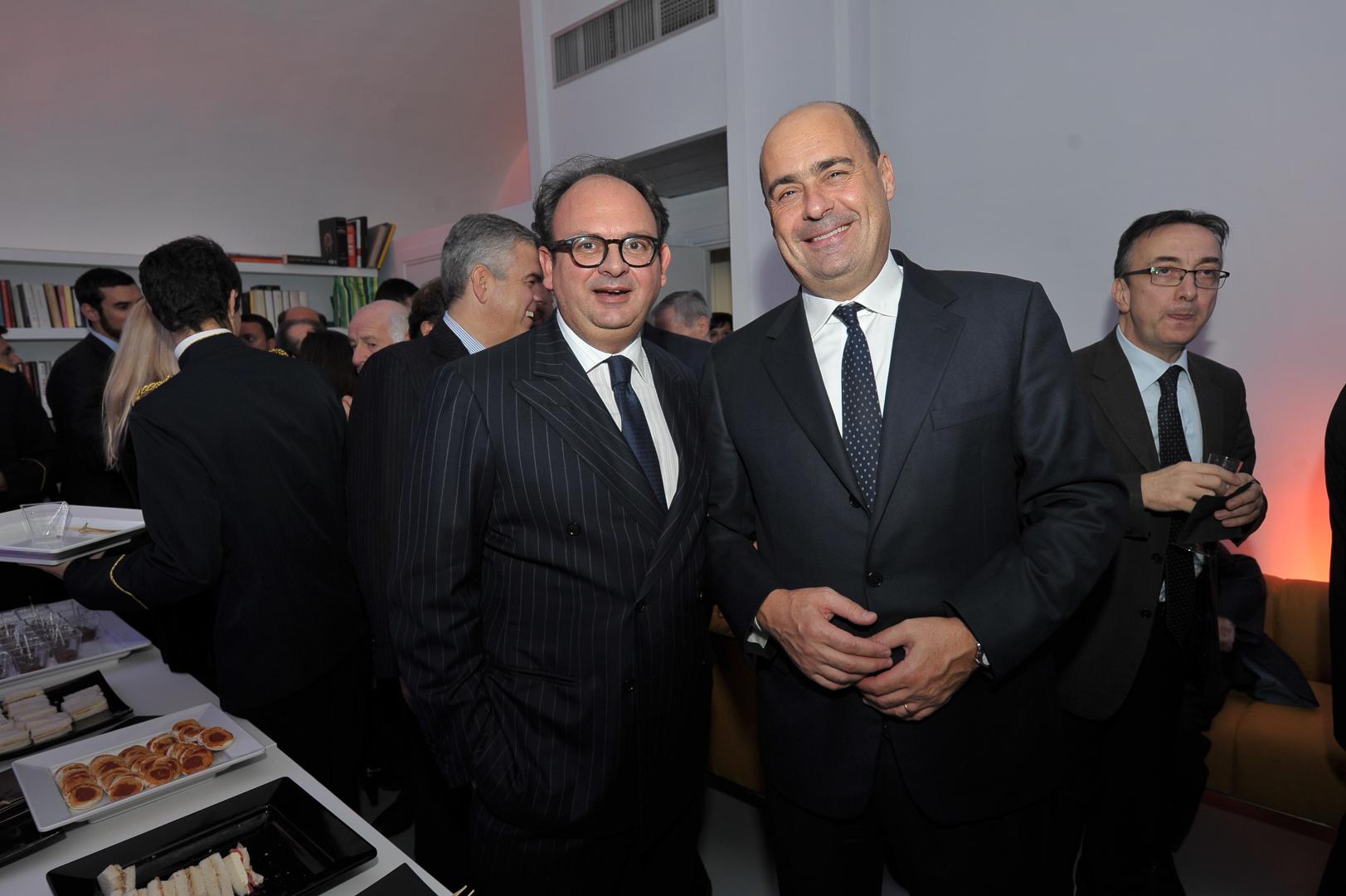 Gianluca Comin e Nicola Zingaretti