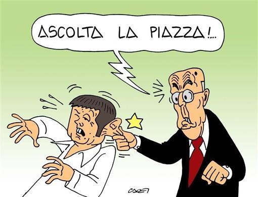 vignette renzi napolitano - Formiche.net