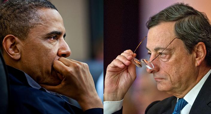 Tutte le convergenze parallele fra Obama e Draghi