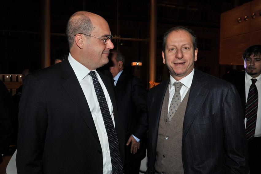 Nicola Zingaretti e Virman Cusenza