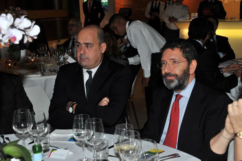 Nicola Zingaretti e Ignazio Marino