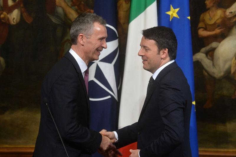 Che cosa ha detto Stoltenberg a Mattarella e Renzi sui piani Nato in Libia