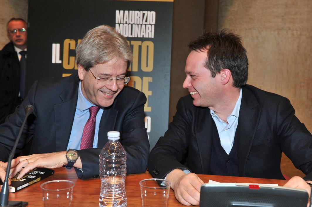 Paolo Gentiloni e Marco Carrai