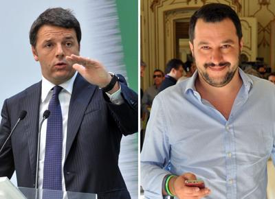 Renzi e Salvini, tutte le opposte affinità tra i due Matteo