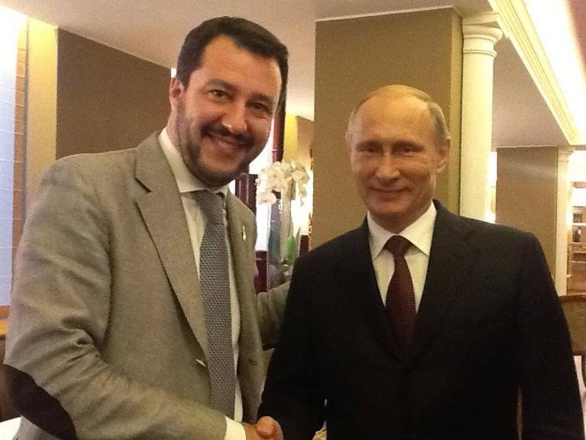 L'altro contratto di Salvini (con Putin). Il Nos – e il Viminale – a rischio?