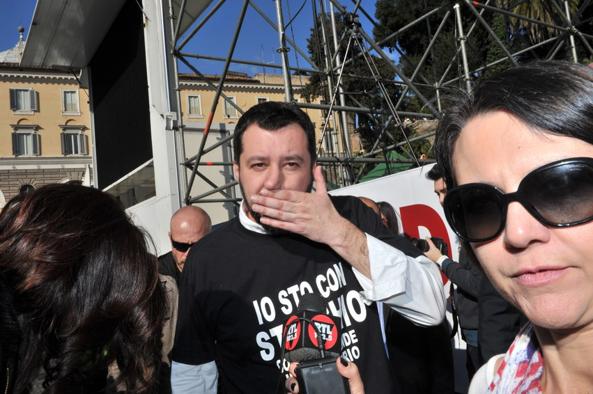 Ecco la coalizione (ben poco padana) di Matteo Salvini