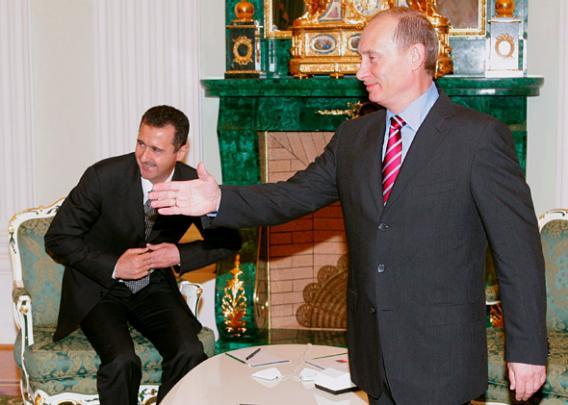 Tra il Papa e Putin c'è sempre Assad