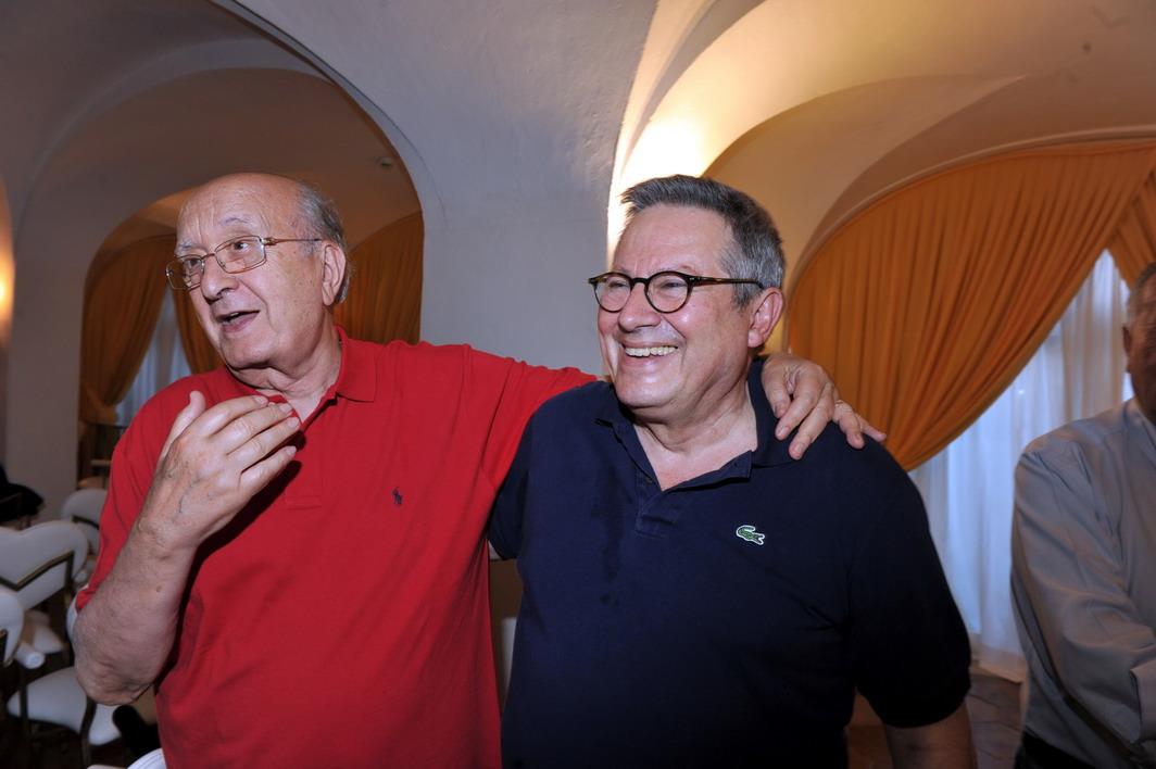 Ciriaco De Mita e Paolo Liguori
