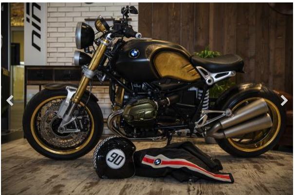 L'arte monta sulle due ruote: ed ecco una moto Bmw tatuata