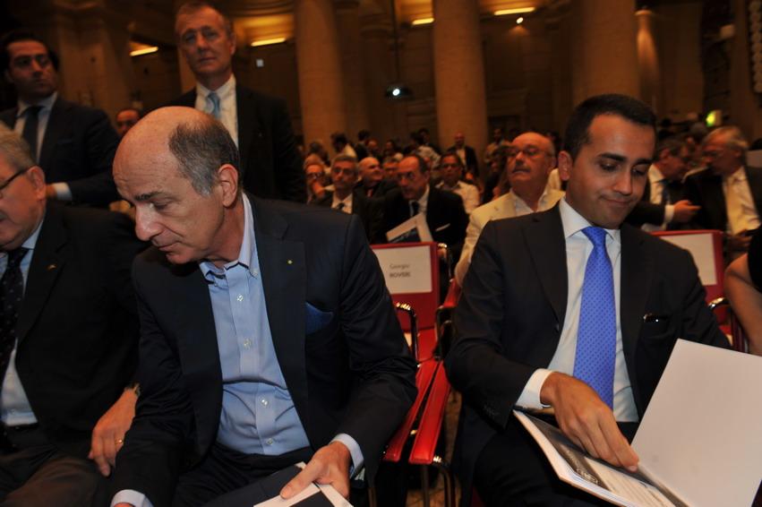 Corrado Passera e Luigi Di Maio