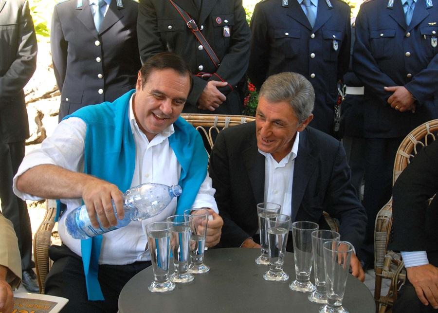 Clemente Mastella e Antonio Bassolino