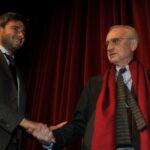 Alessandro Di Battista e Paolo Flores D'Arcais
