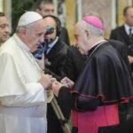 Papa Francesco e monsignore Rino Fisichella