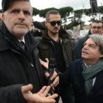 Enrico Lucci e Renato Brunetta