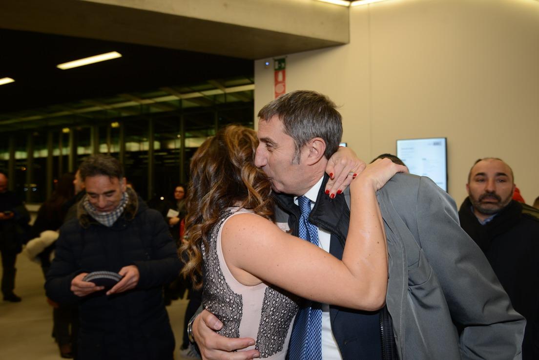 Ester Mieli e Marco Chiocci