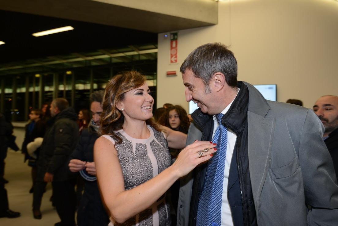 Ester Mieli e Gian Marco Chiocci
